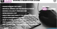 Booking brs reservation woocommerce system