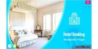 Booking hotel plugin wordpress system