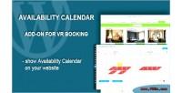 Calendar availability add on