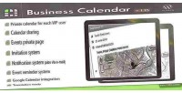 Calendar business calendar internal wordpress