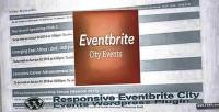 City evenbrite events plugin