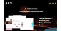 Event jt calendar