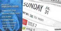 Events wordpress calendar