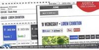 Events wp calendar plugin