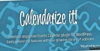 It calendarize for wordpress