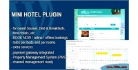 Mini hotel booking & plugin wp managament