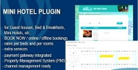 Mini hotel booking & plugin wp managament