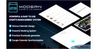 Modern events calendar responsive event scheduler wordpress for booking