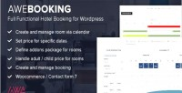 Online awebooking hotel wordpress for booking