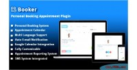 Personal booker plugin appointment booking