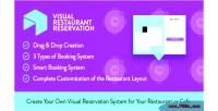 Restaurant visual reservation system booking wordpress