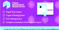 Restaurant visual reservation system booking wordpress