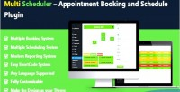 Scheduler appointment booking & schedule with plugin booking multi scheduler