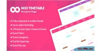Timetable noo responsive plugin timetable wordpress