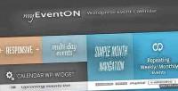 Wordpress eventon plugin calendar event