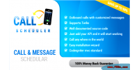 Call wp scheduler sms and