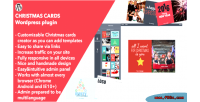 Cards christmas wordpress plugin