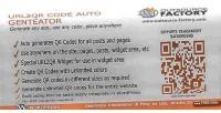Code url2qr auto generator