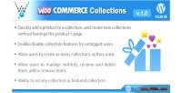Collections woocommerce wordpress plugin