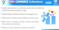 Collections woocommerce wordpress plugin