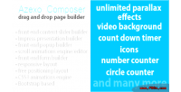 Composer azexo wordpress builder widget page