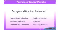 Composer visual animation gradient background