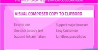 Composer visual clipboard to copy