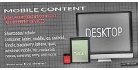 Content mobile mobile plugin wordpress detection