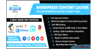Content wordpress locker plugin
