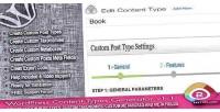 Content wordpress types generator