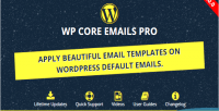 Core wp emails pro