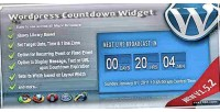 Countdown broadcast widget