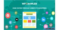 Crawler grab any website wordpress to content crawler