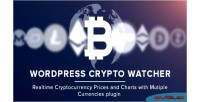 Crypto wordpress watcher realtime prices cryptocurrency & multiple with charts