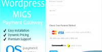 Custom migs wordpress for payment
