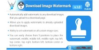 Digital easy downloads watermark image download