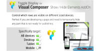 Display toggle composer visual for