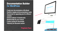 Documentation wordpress builder