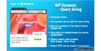 Dynamic wp query string