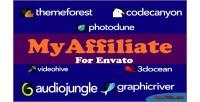 Earn myaffiliate with program affiliate envato