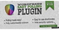 Easy wordpress polling plugin