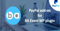 Add paypal on ba for plugin wp event