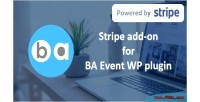 Add stripe on ba for plugin wp event