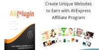 Affiliate aliexpress plugin