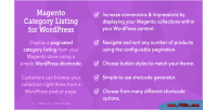 Category magento wordpress for listing