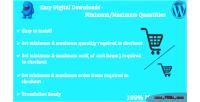 Digital easy downloads quantities maximum minimum