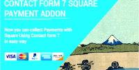 Form contact 7 addon payment square
