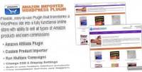 Importer amazon wordpress plugin