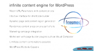 Infinite cosmos content wordpress for engine