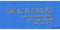 Instant stripe downloads